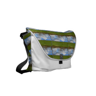 Let's Play Golf Small Messenger Bag