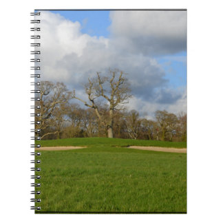 Let's Play Golf Spiral Note Books