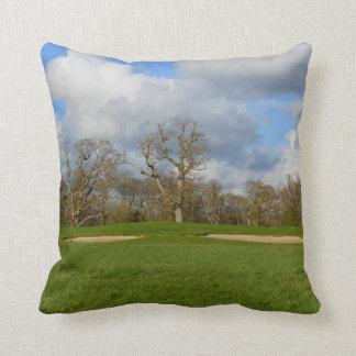 Let's Play Golf Throw Pillow