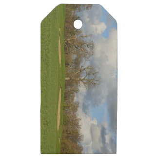 Let's Play Golf Wooden Gift Tags