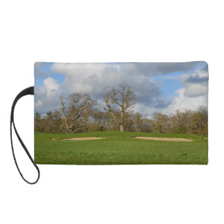 Let's Play Golf Wristlet Purse
