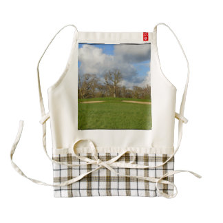 Let's Play Golf Zazzle HEART Apron
