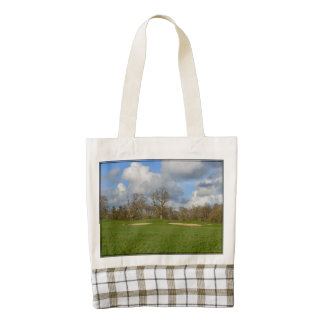 Let's Play Golf Zazzle HEART Tote Bag