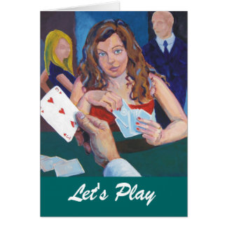 Let's play greeting card