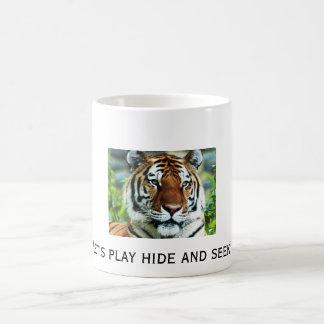 Let's play hide and seek! 11 oz magic heat Color-Changing coffee mug