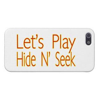 Lets Play Hide N Seek iPhone SE/5/5s Cover