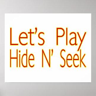 Lets Play Hide N Seek Poster