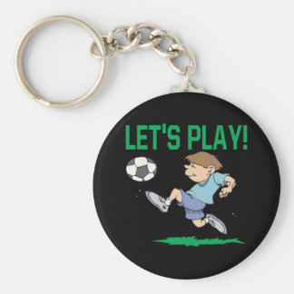 Lets Play Key Chain