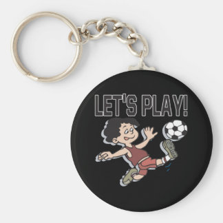 Lets Play Keychain