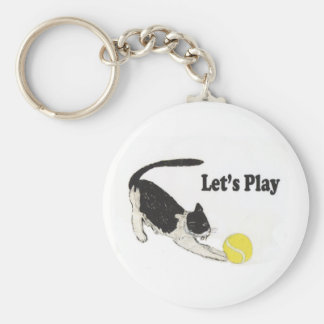 Let's Play Keychain