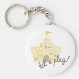 Lets Play! Keychain