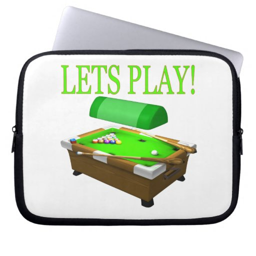 Lets Play Laptop Sleeve