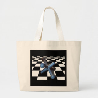Let's Play Large Tote Bag