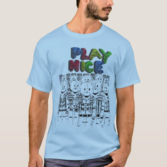 Lets PLaY NiCE T-Shirt