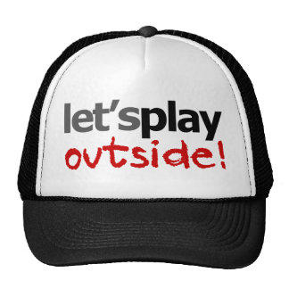 Let's Play Outside! Trucker Hat