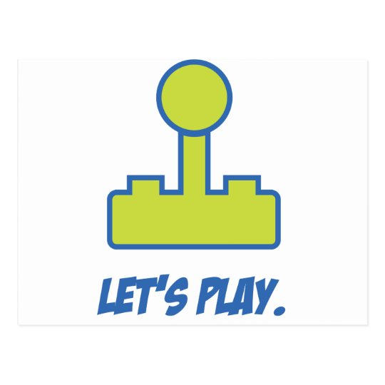 Let's Play Postcard
