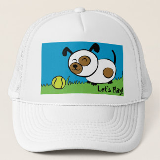 Let's Play! Puppy Hat