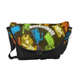 """Let's Play Some Hoop Ball"" Messenger Bag"