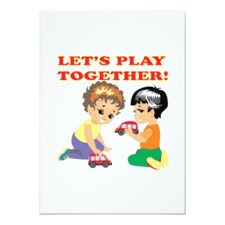 Lets Play Together 2 Card