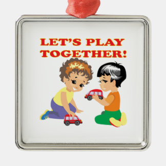 Lets Play Together 2 Ornament