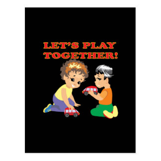Lets Play Together 2 Postcard
