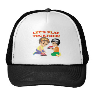 Lets Play Together 2 Trucker Hat