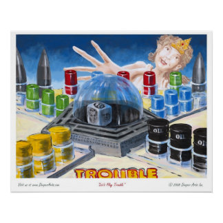 Let's Play Trouble Poster