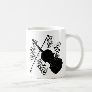 Let's Play,Violin_ Coffee Mug