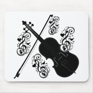Let's Play,Violin_ Mouse Pad