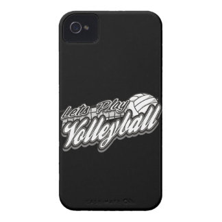 Lets Play Volleyball iPhone 4 Cover