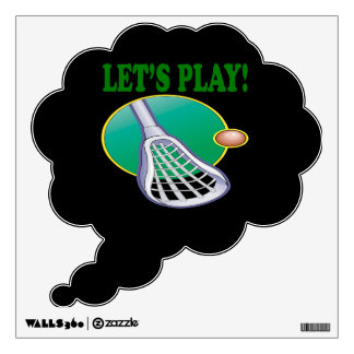 Lets Play Wall Decal