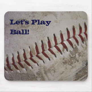 """""""Let's PlayBall!"""" Mousepad"""