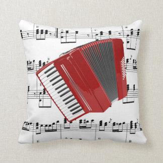 Let's Polka Throw Pillow