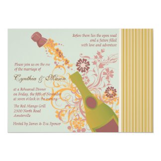 Let's Pop the Cork Invitation