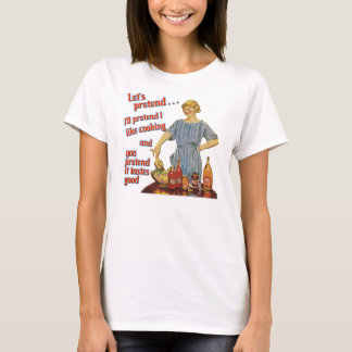 Let's Pretend Ladies Baby Doll T T-Shirt