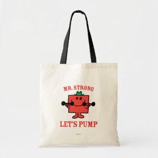Let's Pump Canvas Bags