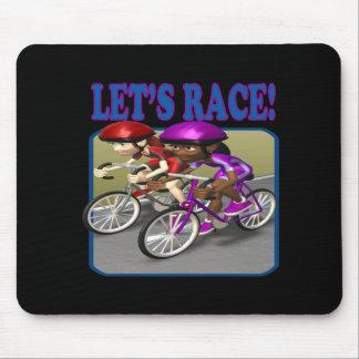 Lets Race 4 Mouse Pad