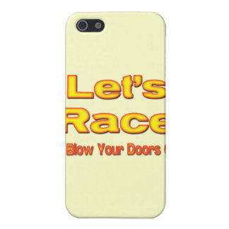 Let's Race I'll Blow Your Doors Off! ylw iPhone SE/5/5s Cover