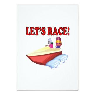 Lets Race Personalized Announcement