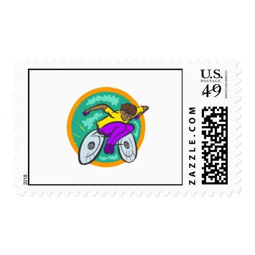 Lets Race Stamp