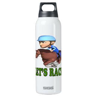 Lets Race Thermos Bottle