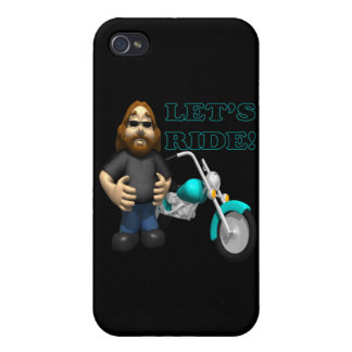 Lets Ride 2 iPhone 4/4S Case