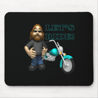 Lets Ride 2 Mouse Pad