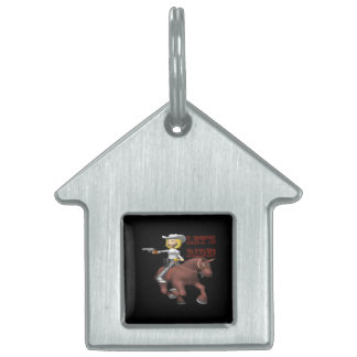 Lets Ride 2 Pet Name Tags