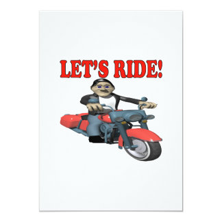 Lets Ride 4 Card