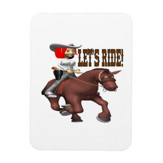 Lets Ride 4 Flexible Magnet