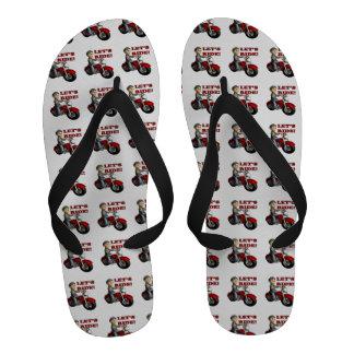 Lets Ride 5 Sandals