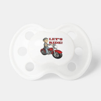 Lets Ride 5 Pacifiers