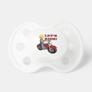 Lets Ride 7 Pacifier