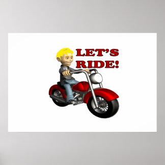 Lets Ride 7 Print